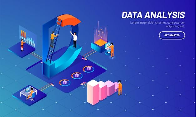 Modelo de web baseado em conceito de análise de dados.