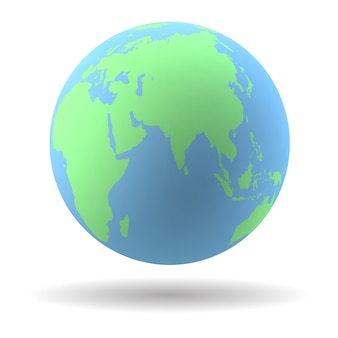 Modelo do globo da terra