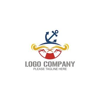 Modelo do logotipo âncora