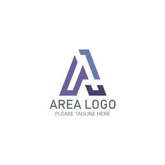 Modelo do logotipo da área