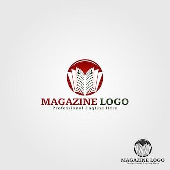 Modelo do logotipo da revista