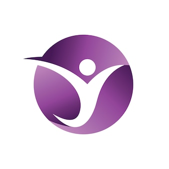 Modelo do logotipo das pessoas