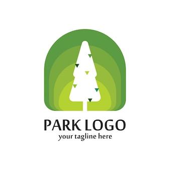 Modelo do logotipo do parque