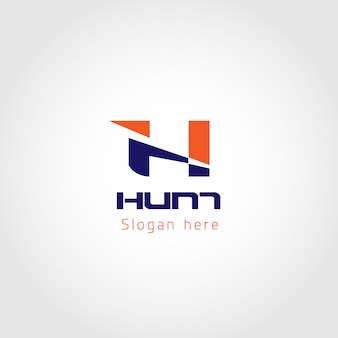 Modelo exclusivo de logotipo de negócios de caça