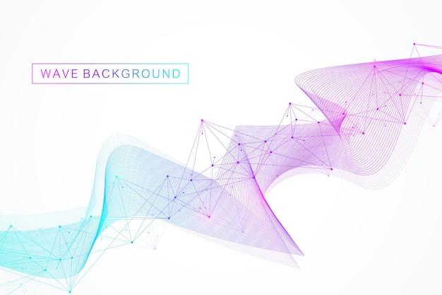 Modelo geométrico para seu design de brochura, folheto, relatório, site, banne