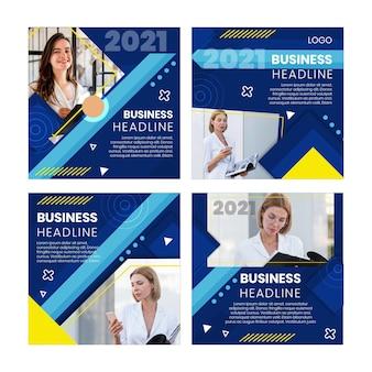 Modelo geral de postagens de negócios no instagram