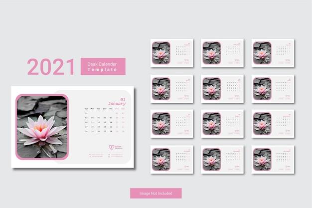 Modelo mínimo de calendário 2021
