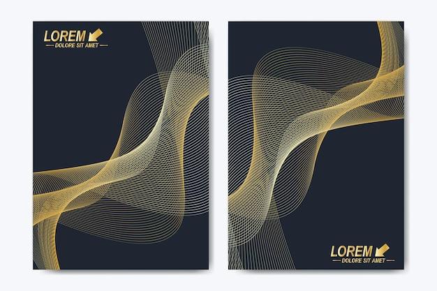 Modelo moderno para brochura