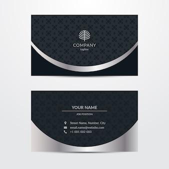 Modelo opulento para cartão de visita