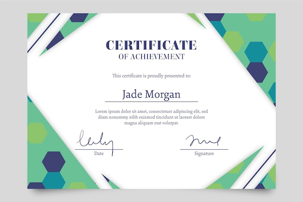 Modelo para diploma