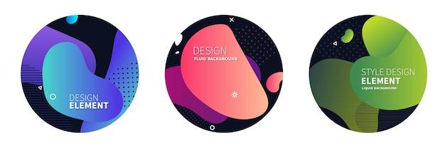 Modelo para o design de um folheto ou apresentação de logotipo
