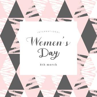 Modelo polivalente de dia internacional da mulher