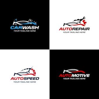 Modelo premium de coleção de logotipo de carro