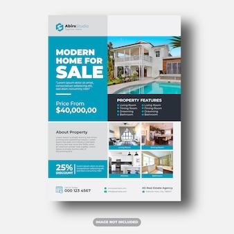 Modelo premium de panfleto imobiliário