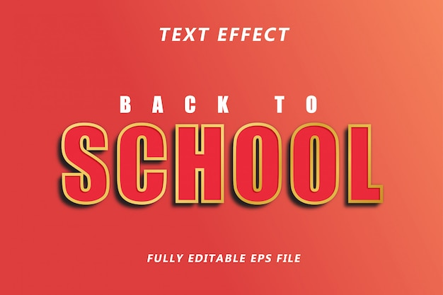 Modelo text effect