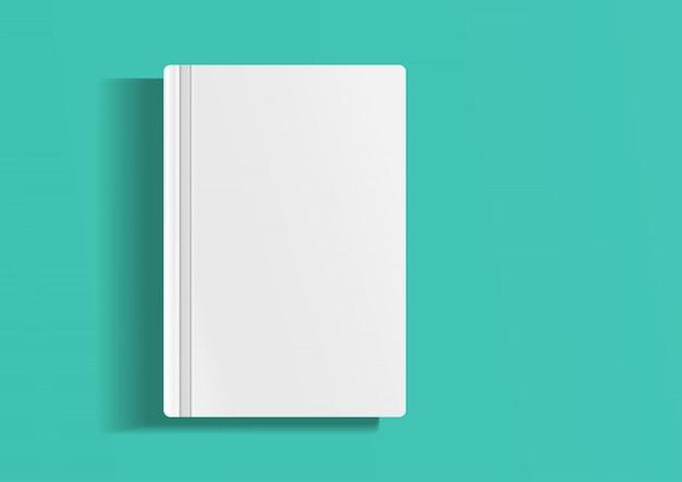 Modelo vazio de revista, álbum ou livro.