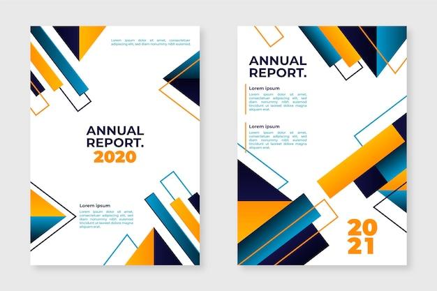 Modelos abstratos de relatório anual 2020-2021