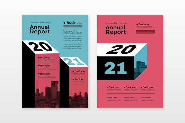 Modelos abstratos de relatório anual