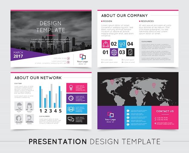Modelos de apresentação da empresa
