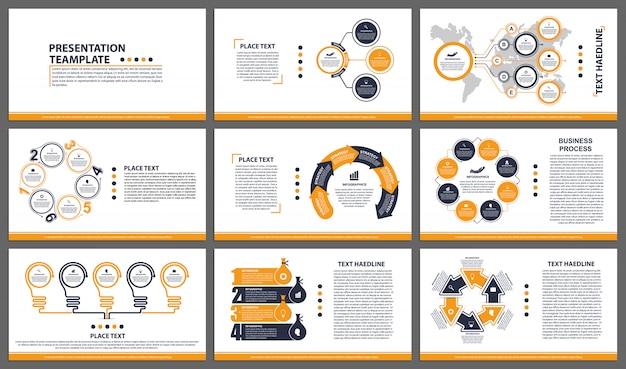 Modelos de apresentação de negócios