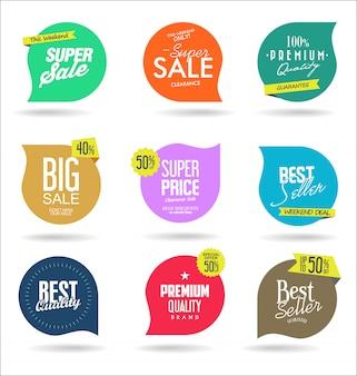 Modelos de banner de venda