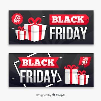 Modelos de banner de vendas de sexta-feira negra