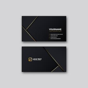 Modelos de cartão de negócios modernos. design de papelaria. ilustração.