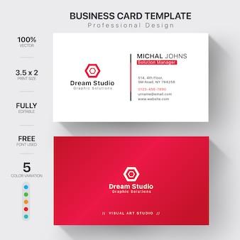 Modelos de cartões de visita