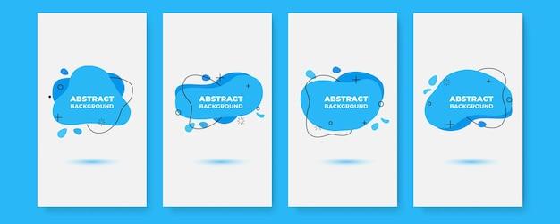 Modelos de design de banner em estilo simples e moderno com espaço de cópia