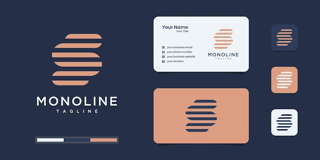 Modelos de design de logotipo da letra s.