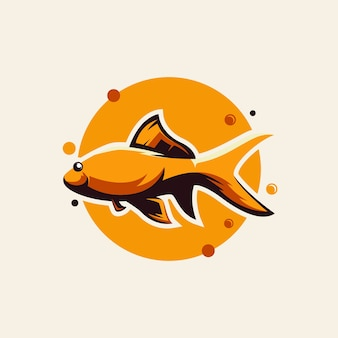 Modelos de design de logotipo de peixes