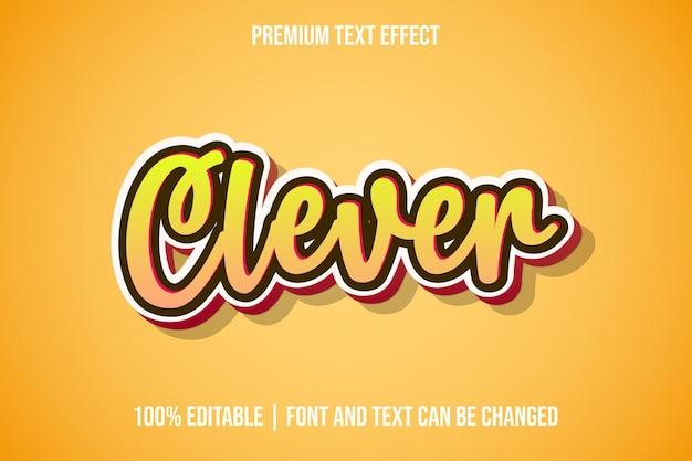 Modelos de efeitos de texto 3d editáveis e inteligentes