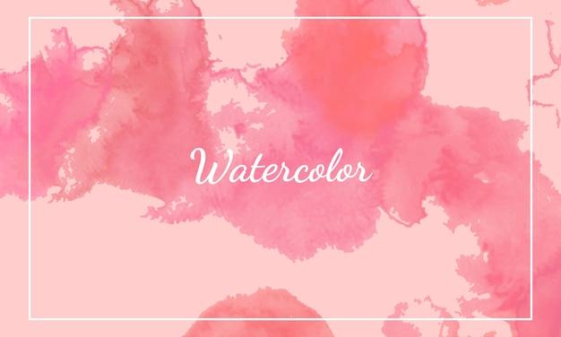 Modelos de fundo aquarela rosa.