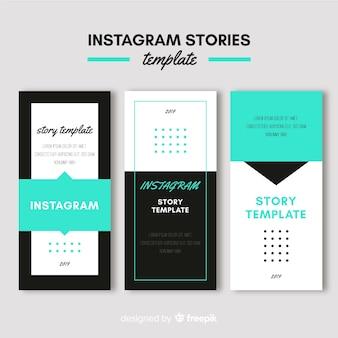 Modelos de histórias do instagram