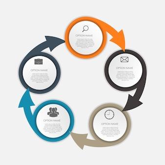 Modelos de infográfico para negócios