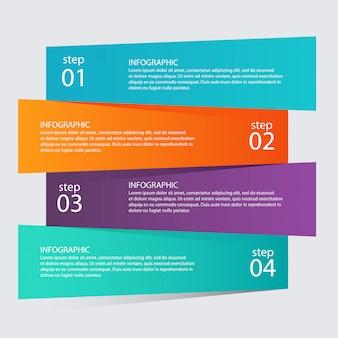 Modelos de infográfico para negócios.