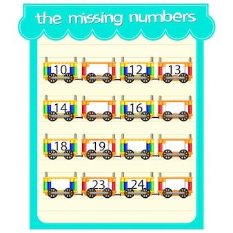 Modelos de jogos com números ausentes