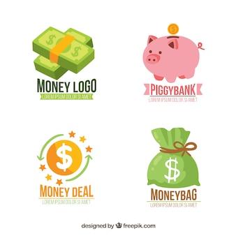 Modelos de logotipo de dinheiro
