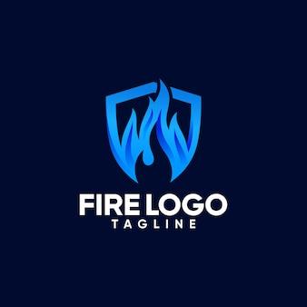 Modelos de logotipo de fogo