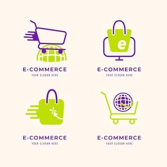Modelos de logotipo de loja online criativa
