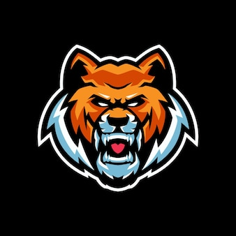 Modelos de logotipo do tiger mascot