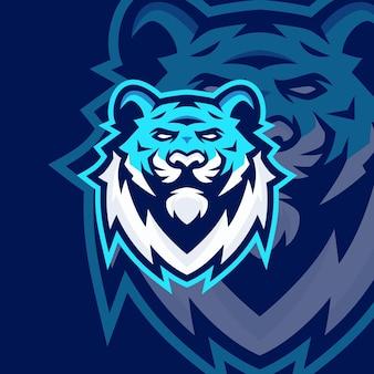 Modelos de logotipo do tiger mascot