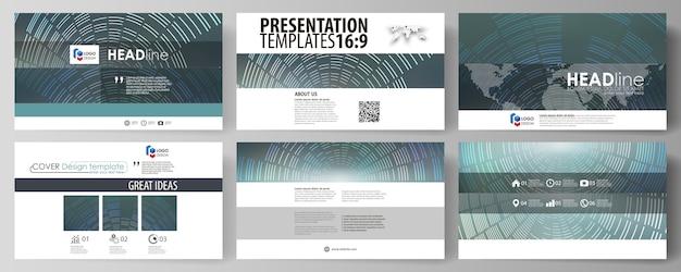 Modelos de negócios em formato hd para slides de apresentação
