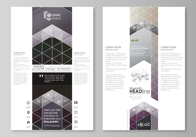 Modelos de negócios gráficos de blog.