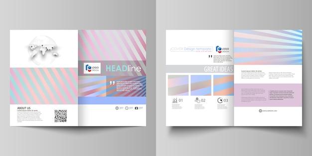 Modelos de negócios para brochura bi