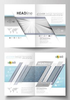 Modelos de negócios para folheto, revista, folheto, livreto.