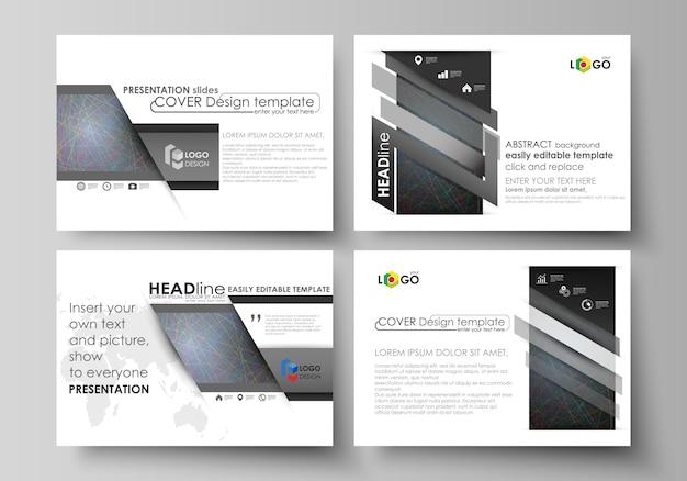 Modelos de negócios para slides de apresentação
