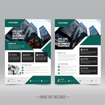 Modelos de panfletos corporativos