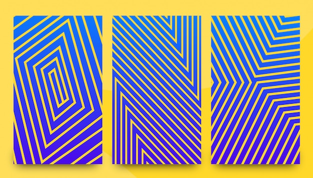 Modelos de plano de fundo abstrato elegante padrão