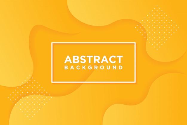 Modelos de vetor moderno. fundo 3d abstrato com laranja.